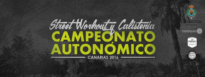 Campeonato Autonomico Street Workout Canarias 2016