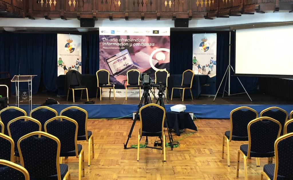 Foro AtlanticoHoy_CD Tenerife_producción_Panorama Eventos
