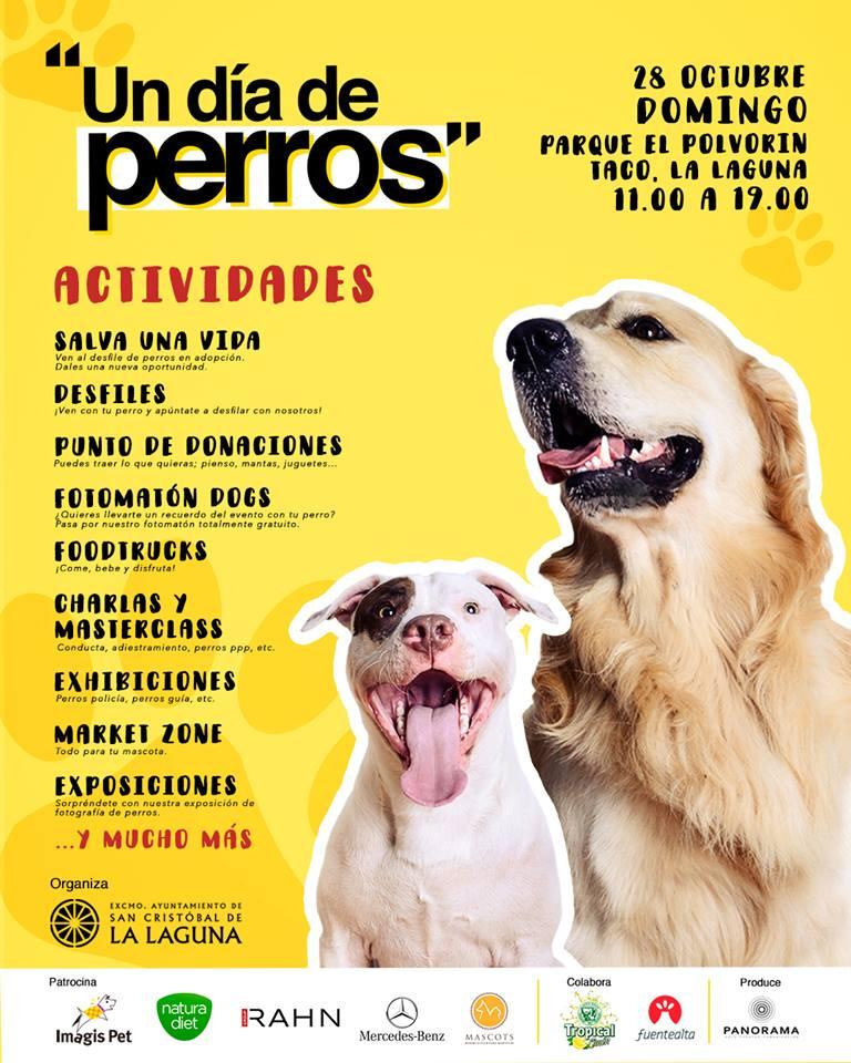 Cartel Un dia de Perros RRSS_Panorama eventos
