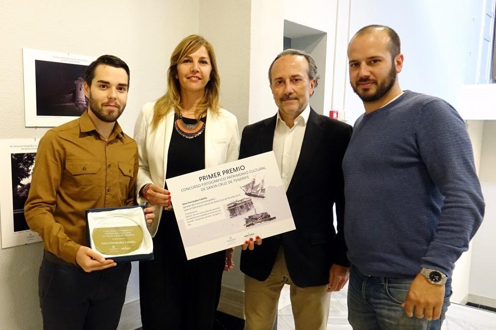 Entrega Premio Ganador Concurso Patrimonio Historico de Santa Cruz_Panorama Eventos